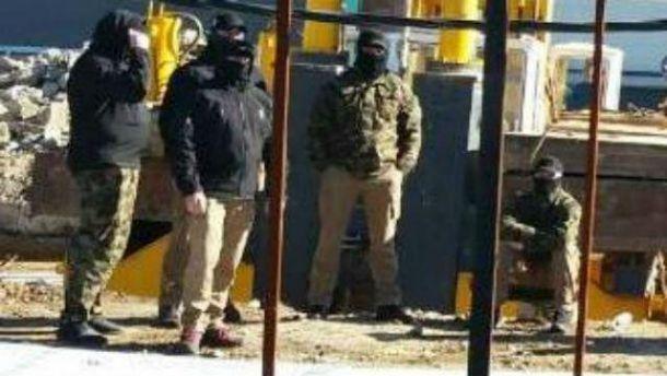 Конфликт вокруг военного объекта в Одессе