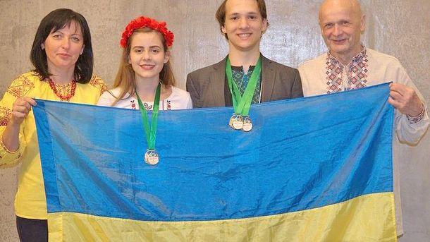 Катерина Малкіна та Юрій Паша отримали золоті нагороди