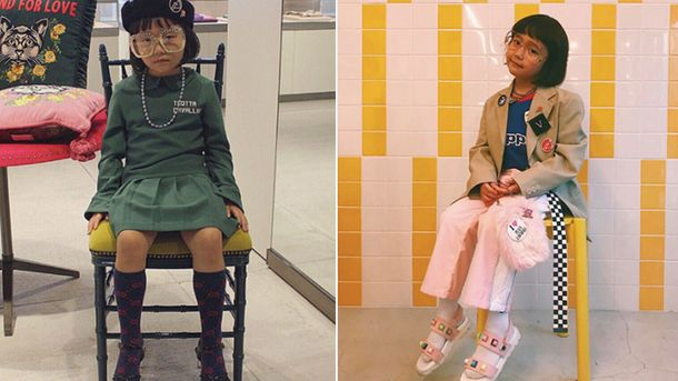 6-летняя модница Коко