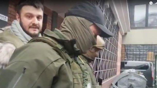 Схваченного сына Авакова привезли вНАБУ