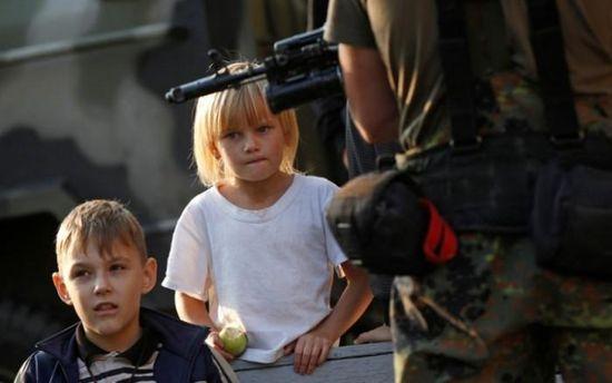 Діти війни на Донбасі