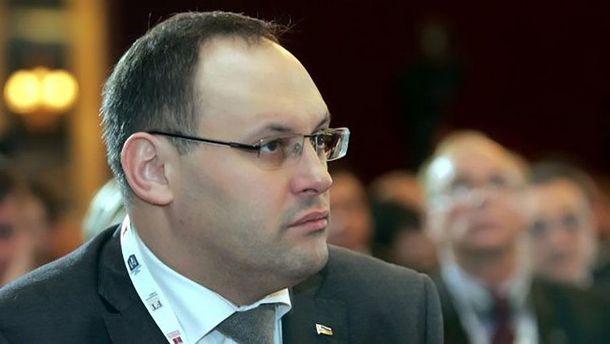 Суд арестовал Каськива надва месяца сальтернативой залога