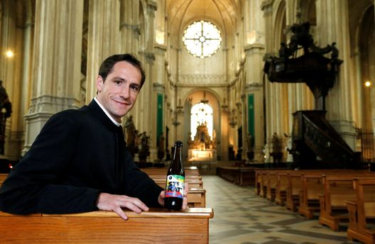 Церковь Святой Екатерины в Брюсселе варит собственное пиво