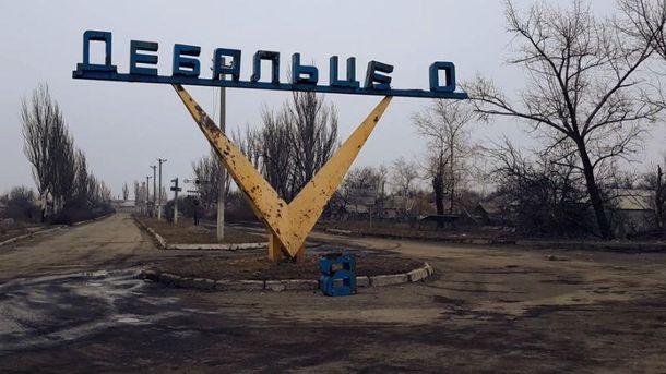 Переговори бойовиків про бої біля Дебальцевого