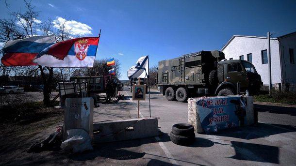 Сербские боевики воюют на стороне