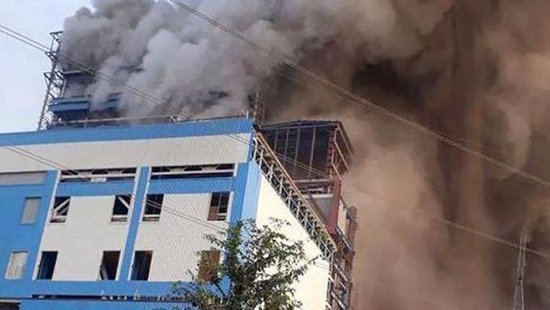 Пожежа на ТЕС в Індії
