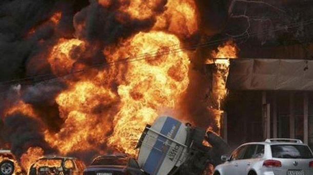 Взрыв бензовоза в Афганистане