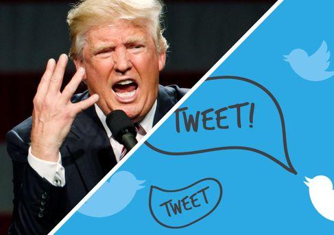 Twitter случайно удалил аккаунт Трампа