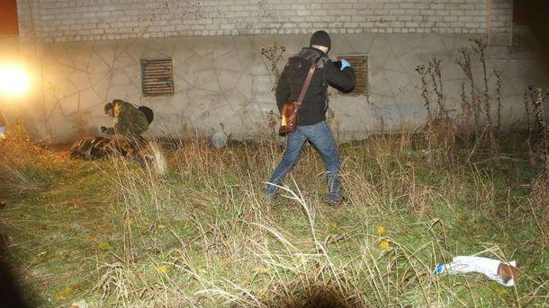 Место убийства Сергея Самарского