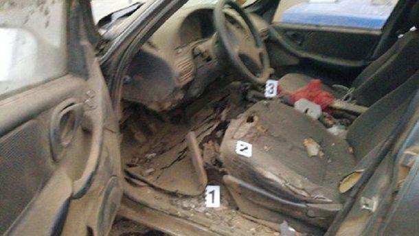 ВОдесской области взорвался автомобиль, шофёр умер