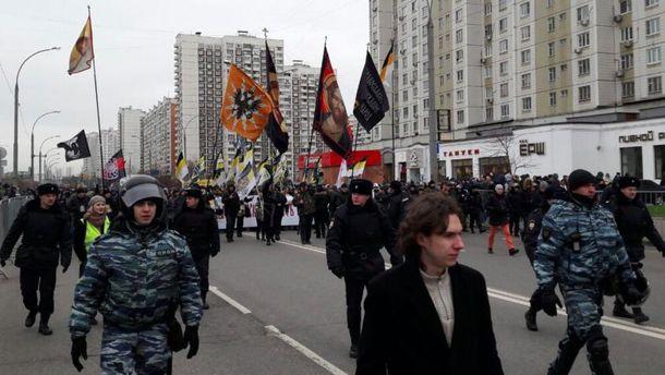 Марш у Росії