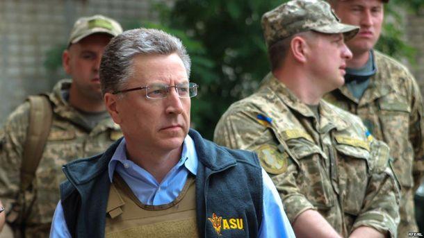 Курт Волкер сказав, коли відвідає Донецьк і Луганськ