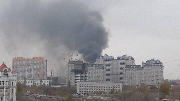 Велика пожежа вОдесі: з'явилися подробиці і нове відео