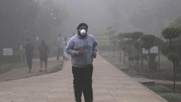 Столица Индии в смоге