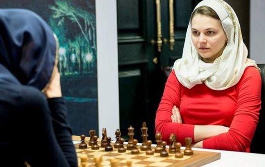 Анна Музычук отказалась ехать наЧМ из-за нарушения прав женщин