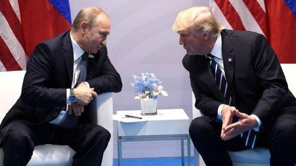 Песков поведал о«множественных контактах» В.Путина иТрампа насаммите АТС