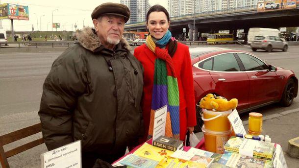 Микола Улянич є справжнім фанатом меду та здорового способу життя