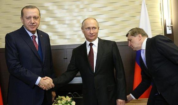 Путін та Ердоган поговорили про мир