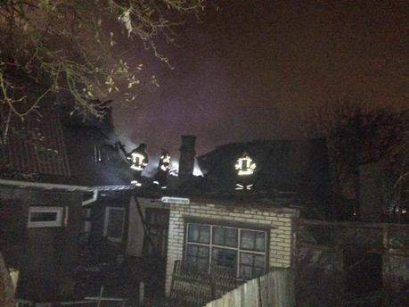 Масштабна пожежа в центрі Вінниці: два десятки рятувальників ліквідовували надзвичайну ситуацію