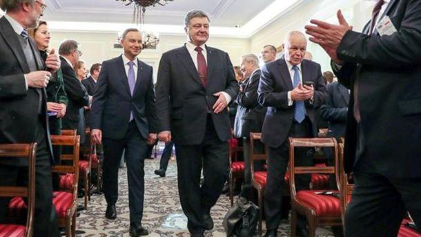 Обнародована дата проведения заседания комитета президентов Украины и Польши