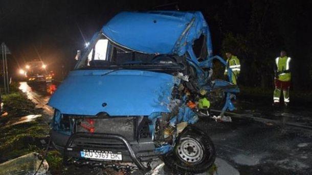 Авария с украинцами в Словакии: возросло число погибших