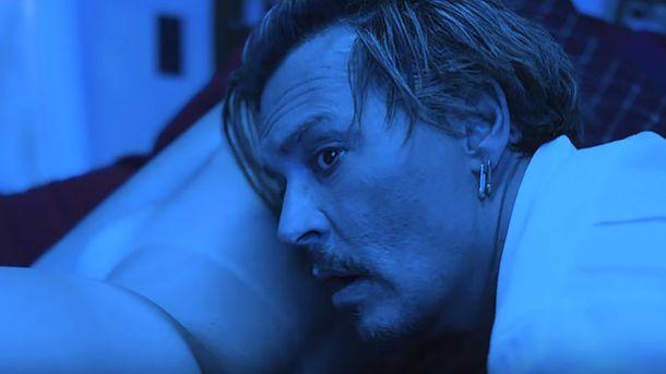 Джонни Депп в видеоклипе