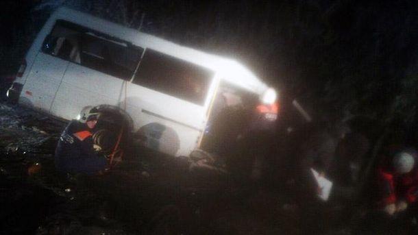 УРосії дев'ять осіб загинули в зіткненні автобуса і лісовоза