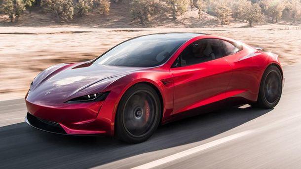 Новий Tesla Roadster