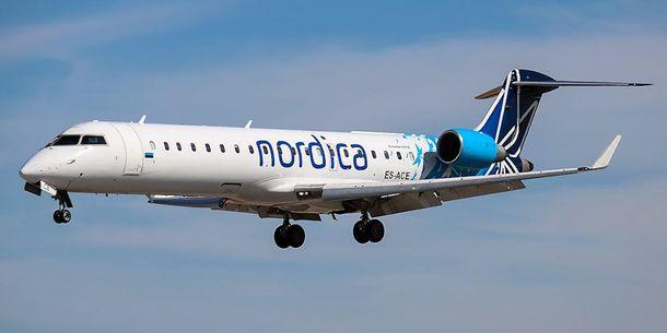 Эстонская авиакомпания открывает очередной маршрут в государство Украину