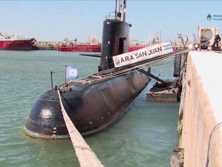 ВМС США иNASA ищут пропавшую аргентинскую подлодку