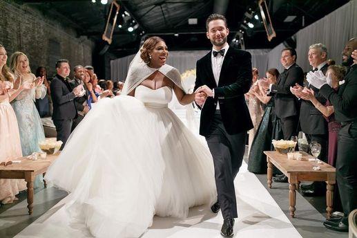 Весілля Серени Вільямс і Алексіса Оганяна.