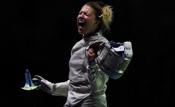 Украинка Харлан выиграла этап Кубка мира пофехтованию