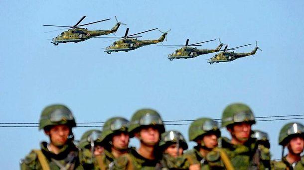Россия готовится к активным боевым действиям