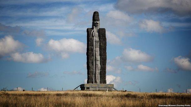 Монумент чабану вОдесской области попал вКнигу рекордов Гиннеса