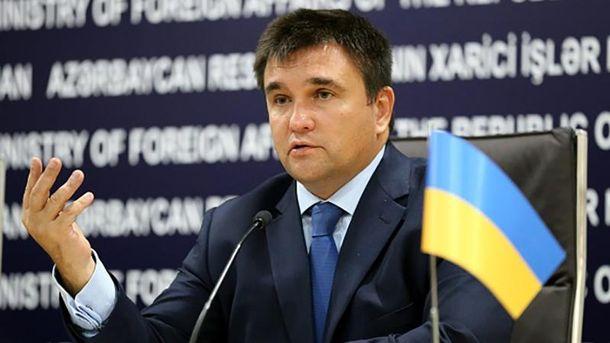 Клімкін заявив, щоРосія спровокувала наДонбасі екологічну тагуманітарну катастрофи