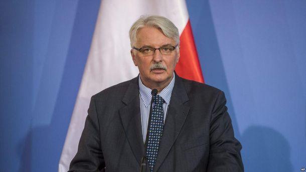 Глава МЗС Польщі розчарований відносинами зУкраїною