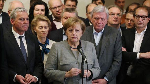 Провал переговоров окоалиции вГермании: последствия для Европы иАнгелы Меркель