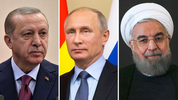 СМИ о саммите в Сочи: трое
