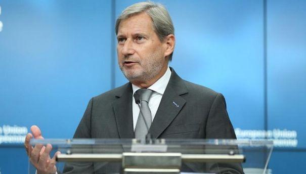 Єврокомісар Ган розкритикував ідею інвестиційного плану для України