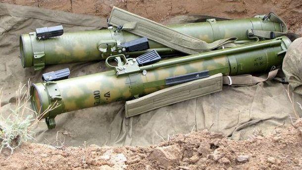Штаб бойовиків розстріляли звогнемета