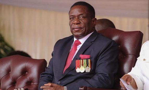 Эммерсон Мнангагва вступил вдолжность президента Зимбабве