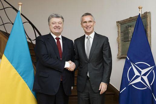Украина иНАТО договорились обусилении сотрудничества