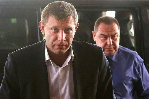 Руководитель  ДНР поздравил врио главы ЛНР совступлением вдолжность