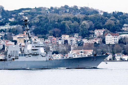 УЧорне море увійшов американський ракетний есмінець із «Томагавками»