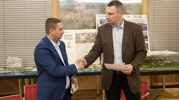 Кличко подписал скандальный меморандум позастройке наместе Сенного рынка