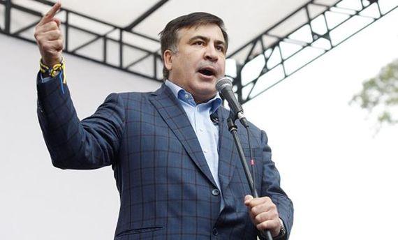 Партия «Рух нових сил»: Порошенко отдал приказ  арестовать Саакашвили
