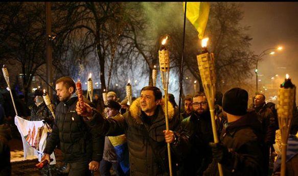 Сутички уКиєві: правоохоронці затримали активістів
