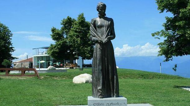 Пам'ятник Лесі Укранці в Грузії
