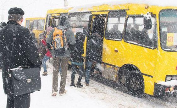 Уцентрі Києва до кінця січня обмежено рух транспорту