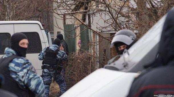 Российский расизм в Крыму